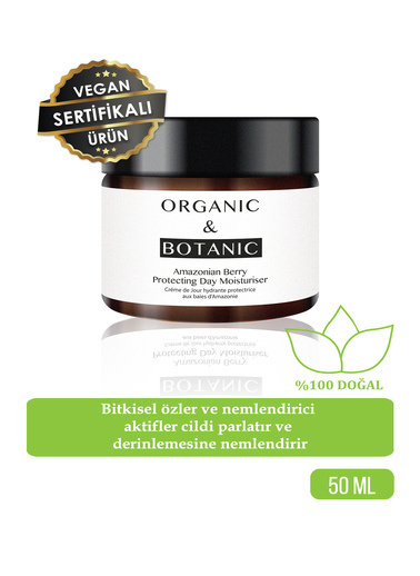 Organic ORGANIC BOTANIC GÜNDÜZ KREMİ KOR.AMAZON ÜZÜMÜ50ml Renksiz